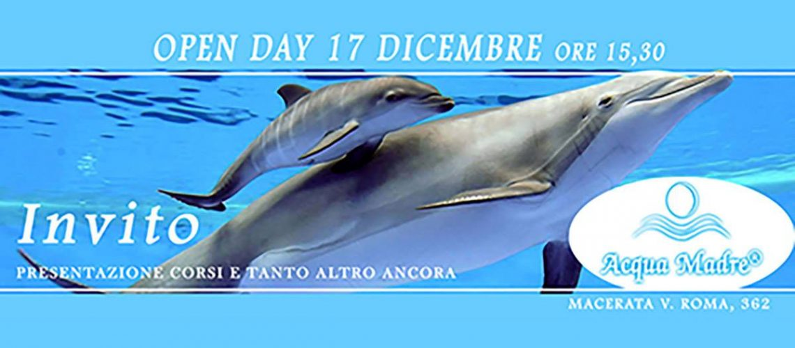open day acqua madre macerata