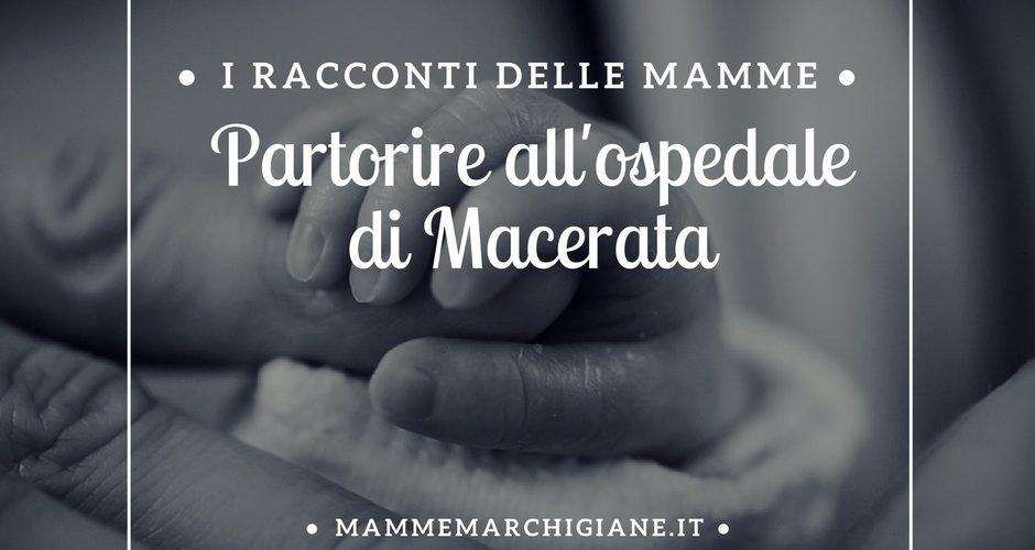 manine neonato Partorire al'l'ospedale di Macerata