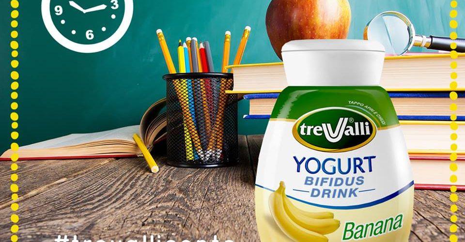 yogurt tre valli merenda