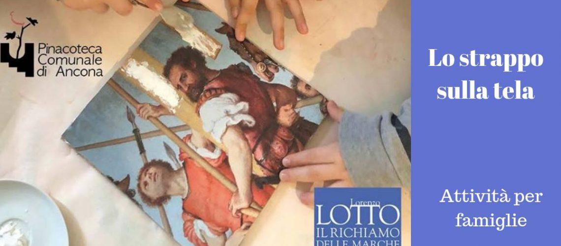 strappo sulla tela pinacoteca ancona