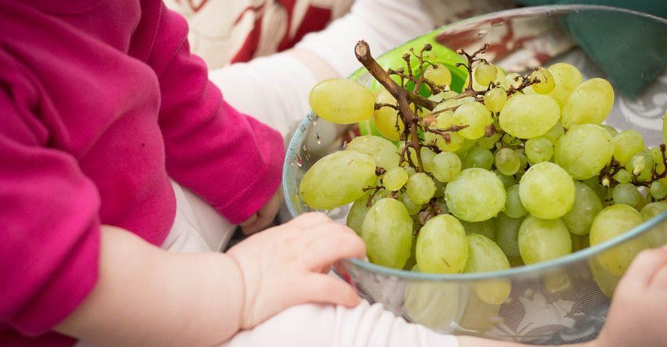 manovre salvavita bambino mangia uva