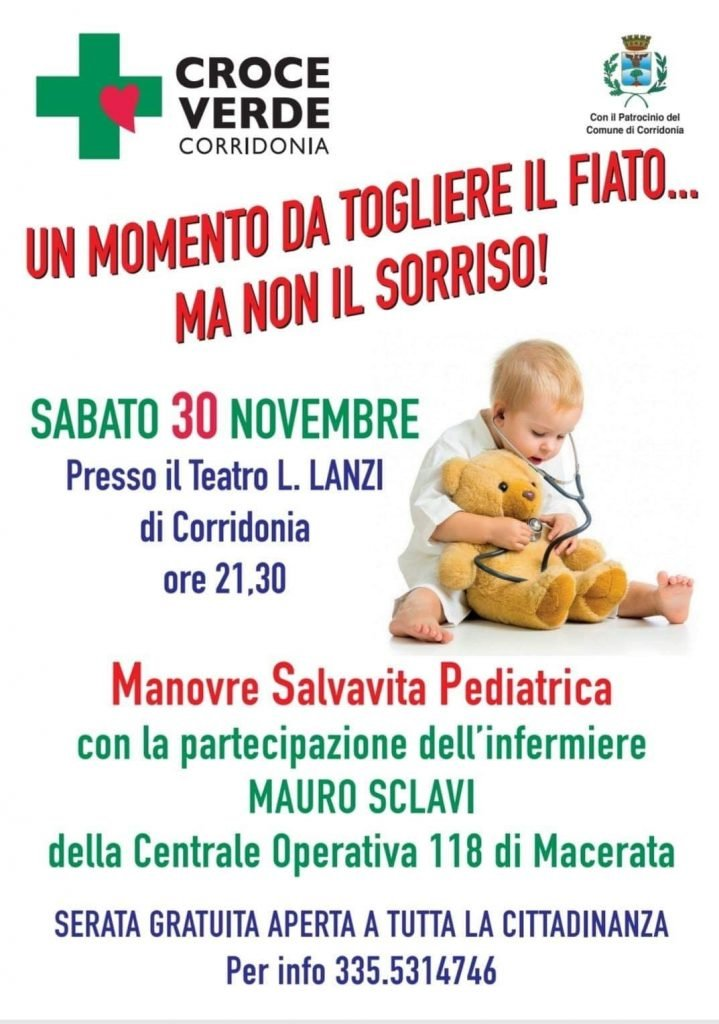 manovre salvavita pediatriche corridonia